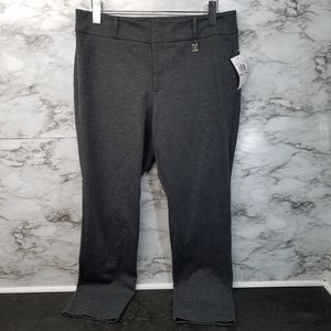 Michael Kors Derby Pants Gray Women Sz 10 New